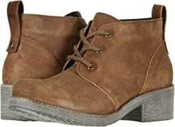 Antique Brown Suede/Saddle Brown Leather