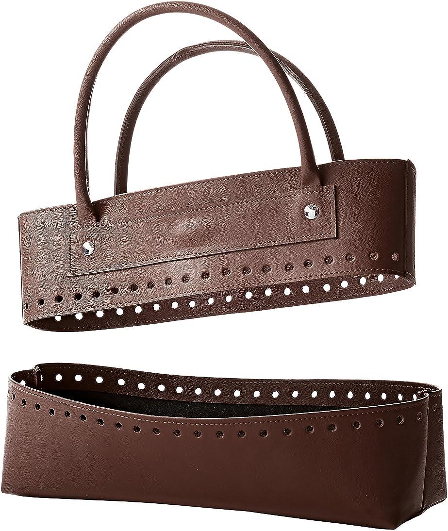 Bergere de France Brown Faux Leather Bag Kit