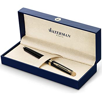 Waterman Hemisphere Fountain Pen GT, Fine Point, Blue Ink