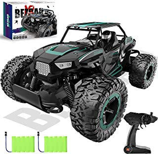 BEZGAR 18 Cyan Toy Grade 1:14 Scale Remote Control Car, 2WD High Speed 20 Km/h All Terrains Electric Toy Off Road RC Vehic...