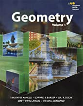 HMH Geometry: Interactive Student Edition Volume 1 2015
