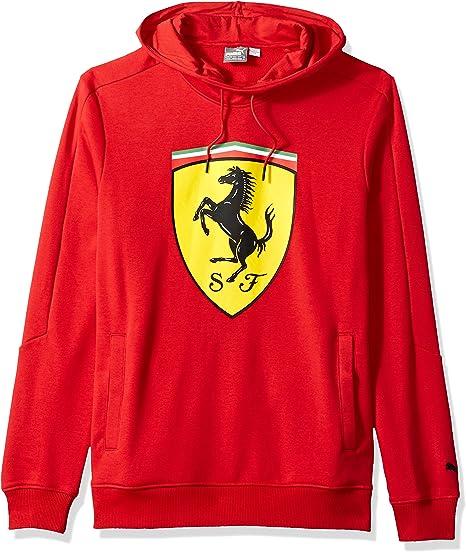 Motorsport Men S Ferrari Big Shield Pullover Hoodie