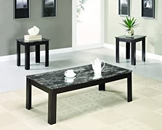 Amazon.com: Black - Living Room Table Sets / Tables: Home & Kitchen