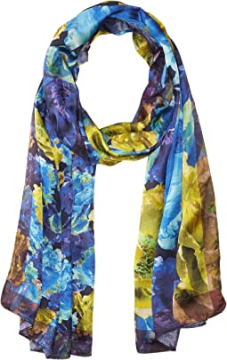 Echo Design - Nottingham Floral Oblong Scarf