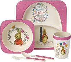 Beatrix Potter Flopsy Bunny Dinner Set, 5-Piece