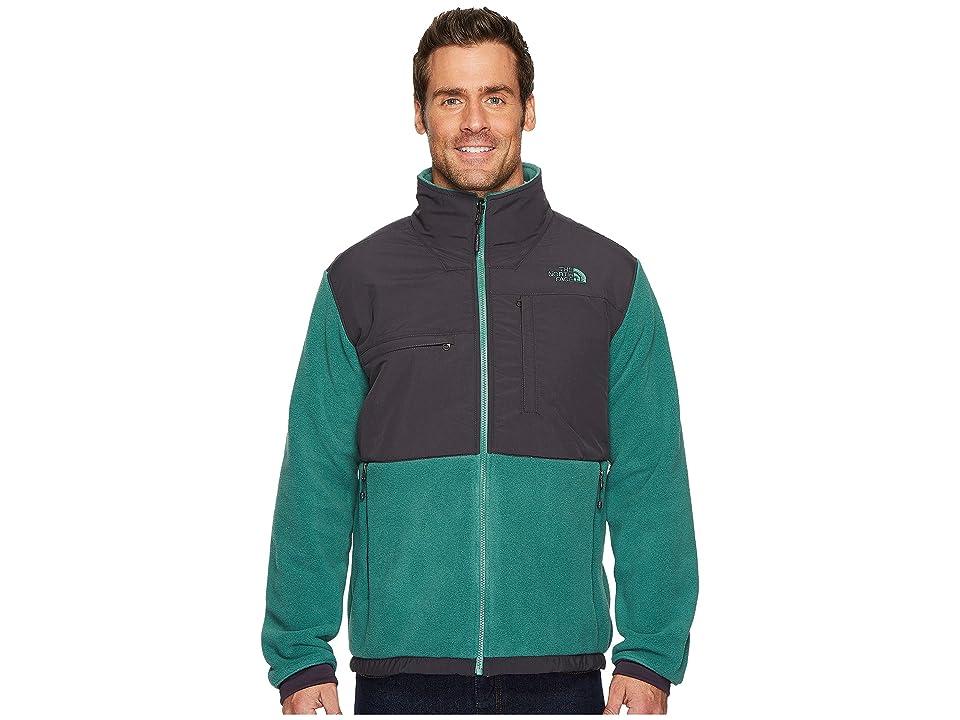 The North Face Denali 2 Jacket (Smoke Pine/Weathered Black) Men