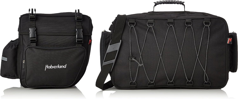 HABERLAND sacoche triple de porte-bagage 60L Sac pour porte-bagages