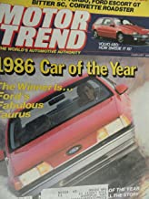 1986 Ford Taurus / Mercury Sable / Oldsmobile Toronado / Buick Riviera / Buick LeSabre / Oldsmobile Delta 88 / Ford Aerostar / Cadillac Eldorado / Porsche 911 Turbo / Escort GT Road Test