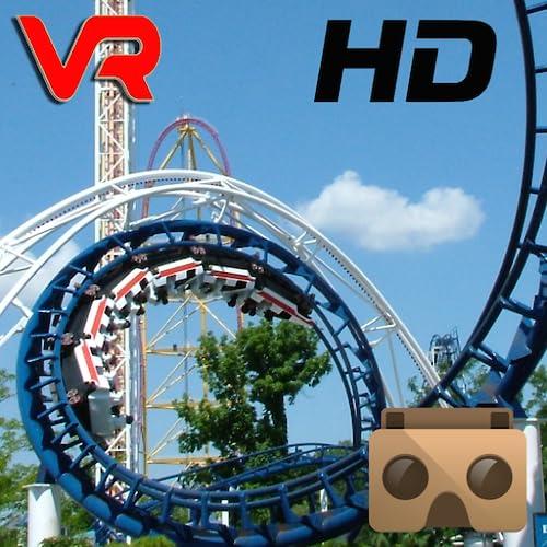 Roller Coaster VR - 3D HD - Cardboard (Virtual Reality)