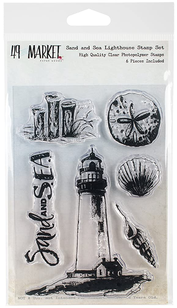 49 and Market Sand & Sea Lighthouse Clear Stamps, 4