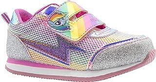 Rainbow Dash Rainbow Silver Glitter Sneaker