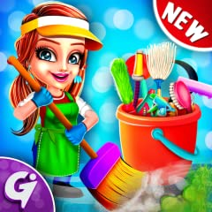 Educational Game Kids Game Fixing Game Cleaning Game