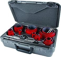 MK Morse MHS23M Bi-Metal Hole Saw Professional Tradesman Kit, 25-Piece
