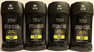 Axe You Antiperspirant & Deodorant - All-Day Dry - Net Wt. 2.7 OZ (76 g) Per Stick - Pack of 4 Sticks (Packaging Varies)