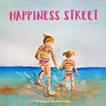 Happiness Street: A children's book about a summer spent by the seaside with Grandma, illustrated with watercolor paintings