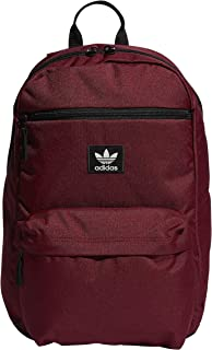 burgundy adidas backpack
