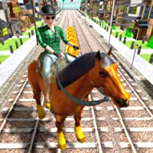 Crazy Horse Riding Game 3D: Free Games For Kids