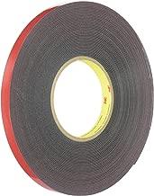 3M(TM) Automotive Acrylic Plus Attachment Tape, Black, 1/2