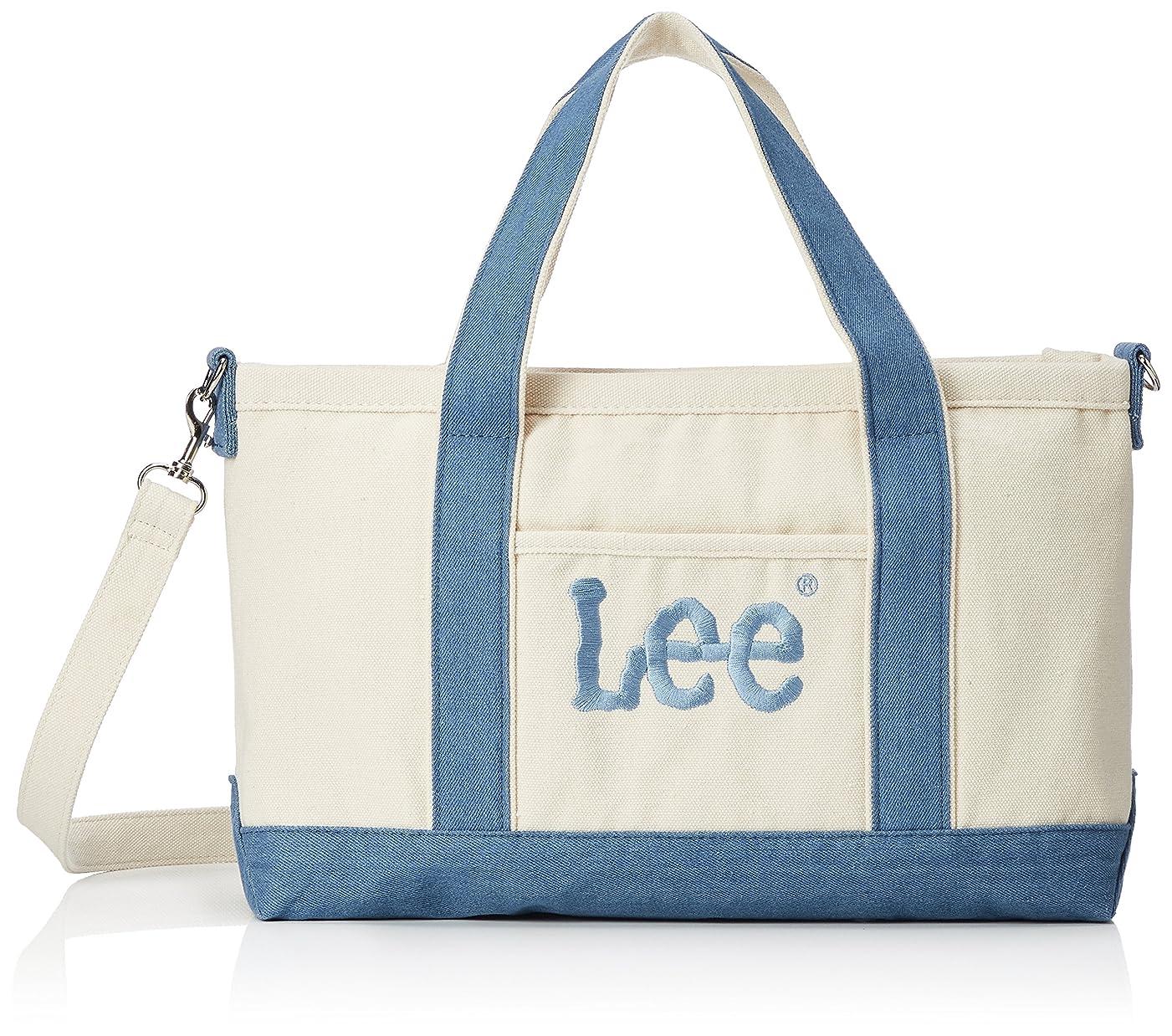 寝る水族館椅子[リー] トートバッグ 2WAY ショルダー 厚手コットンキャンバス(帆布) Leeビッグロゴ刺繍