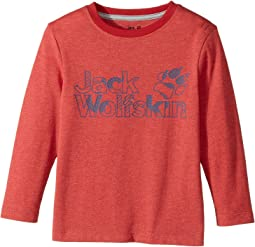 Jack Wolfskin Kids - Long Sleeve Brand Tee (Infant/Toddler/Little Kids/Big Kids)