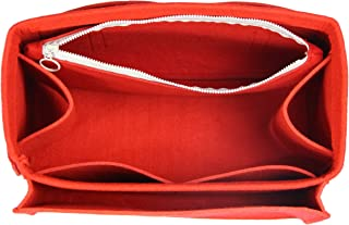 [Fits Ce.line Bags] Felt Organizer (with Diaper Pocket & Detachable Zipper Bag), Bag in Bag, Wool Purse Insert, Customized Tote Organize, Cosmetic Makeup Diaper Handbag