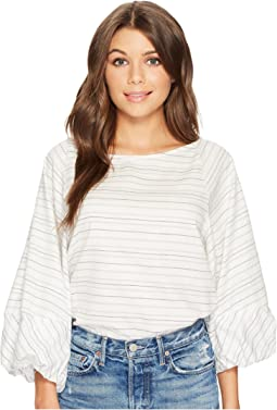 1.STATE - Voluminous 3/4 Sleeve Top