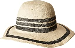 San Diego Hat Company - PBF7311OS Fedora w/ Pop Color Stripes