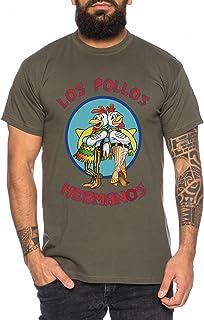 WhyKiki Los Pollos Camiseta de Hombre Hermanos Bad Heisenberg Breaking
