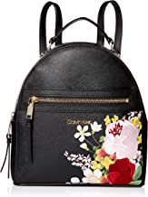 Calvin Klein Mercy Saffiano Leather Key Item Backpack