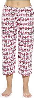100% Cotton Women Pajama Capri Pants Sleepwear