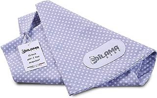 Dilamababy Funda Almohada para Embarazo y Cojin Lactancia 100% Algodón Certificada Oeko-Tex 100 Standard Funda Extraíble Lavable Made in Italy