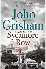 Sycamore Row Kindle Edition