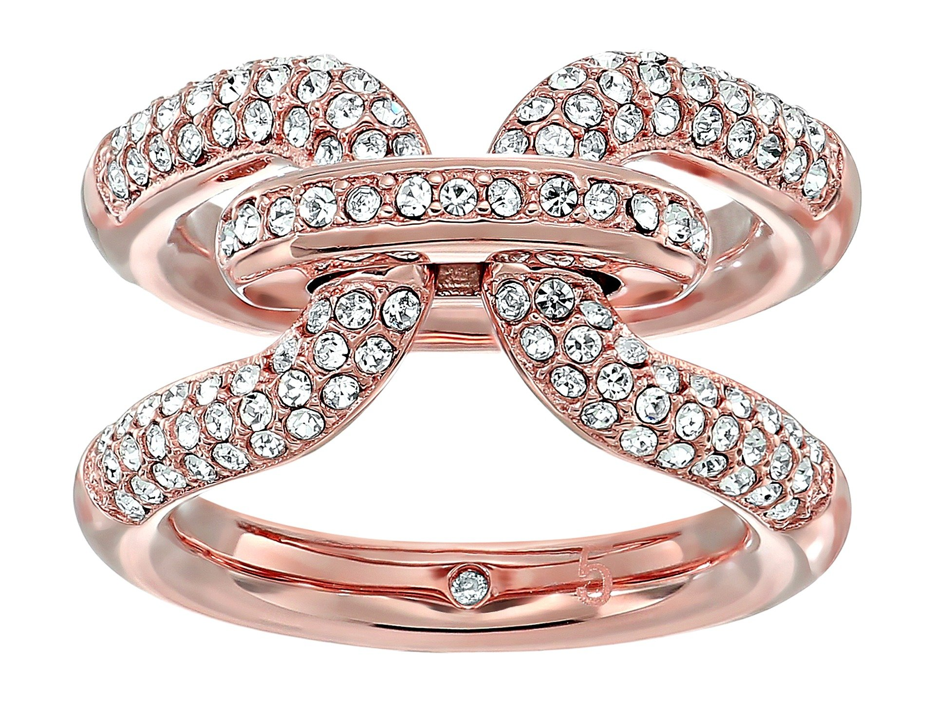 Anillo para Mujer Michael Kors Iconic Link Pave Ring  + Michael Kors en VeoyCompro.net