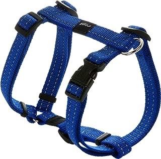 ROGZ Utility Medium 5/8-Inch Reflective Snake Adjustable Dog H-Harness