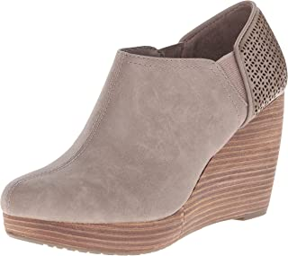 Dr. Scholl's Shoes womens Harlow Boot, Taupe, 9.5 Wide US