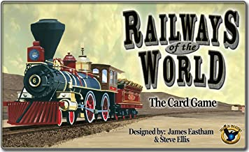 Eagle-Gryphon Games EAG01254 Railways of The World Collectible Card Game