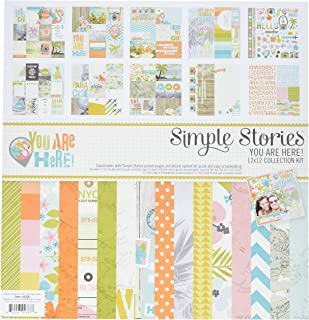 Simple Stories 6200 You are Here Collection Kit, 12
