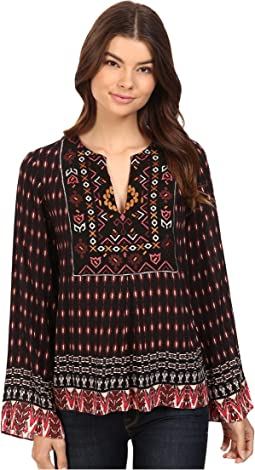 City Explore Embroidered Top