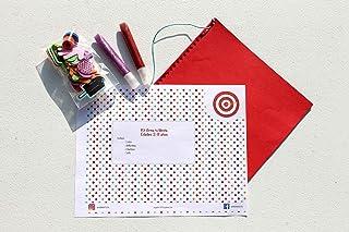 Juego de manualidad para niños de 3-8 años Kit Libreta, tamaño carta. Por: Bambino Festa