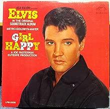 ELVIS PRESLEY girl happy LP Used_VeryGood LPM-3338 Mono 1s/1s Rare 1st Press 1965 Record