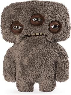 Fuggler Funny-Ugly Monster Plush (Annoyed Alien, Brown) (9 Inches)