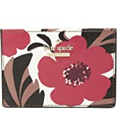 Kate Spade New York - Cameron Street Poppy Field Card Holder