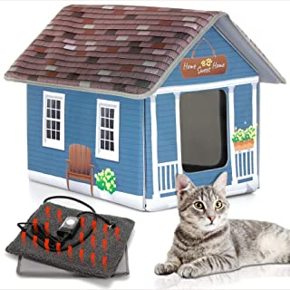 solar heated cat house