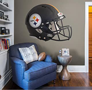 Fathead NFL Pittsburgh Steelers Pittsburgh Steelers: Helmet - Giant Officially Licensed NFL Removable Wall Decal - 11-10072