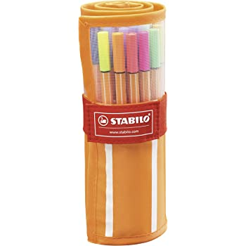 Stabilo Point 88 30-Color Rollerset
