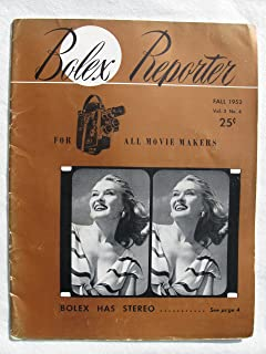 Bolex Reporter for All Movie Makers, Vol. 2 No. 4 Fall 1952