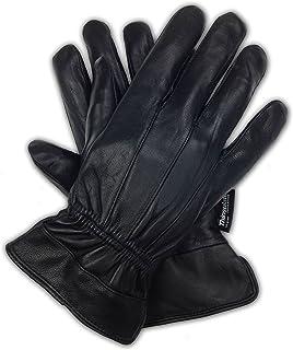 奢华柔软男式真羊皮皮 3M 新雪丽手套