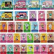 TPLGO 24 عدد ACNH NFC Tag Mini Game نادر شخصیت های روستایی برای سوئیچ / سوئیچ آرشیو