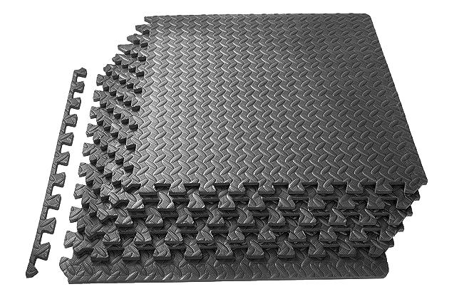 Best interlocking rubber floor tiles for garage amazon