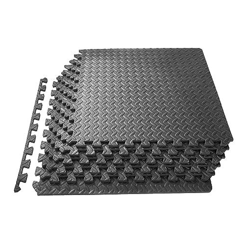 Gym Mat Flooring for Carpet: Amazon com